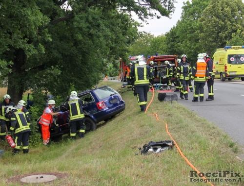 Verkehrsunfall – Übung